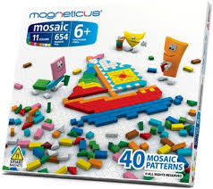 <b>Мозаика</b> MAGNETICUS 654 элемента/11 цветов/<b>40 этюдов</b> MM ...