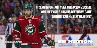 Is Jason Zucker poised to have his breakout season? - Hockey ... via Relatably.com