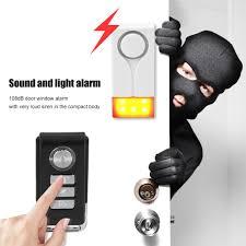 <b>1pc Wireless Door</b> Burglar Alarm Security System Vibration Magnet ...