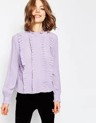 Image result for ruffle blouse