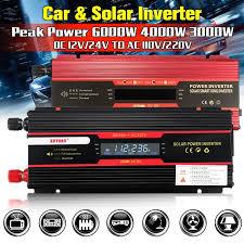 <b>Car</b> Inverter <b>3000W</b> 4000W 6000W <b>Peak Power</b> Voltage Convertor ...