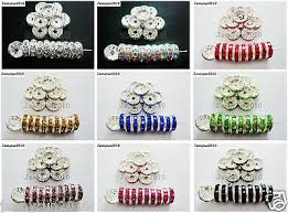 <b>WHOLESALE</b> GLASS CRYSTAL <b>Faceted</b> Rondelle Spacer Loose ...
