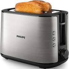 <b>Тостер PHILIPS</b> HD2650, серебристый [<b>hd2650</b>/<b>90</b>]
