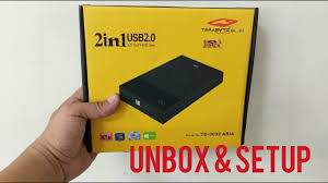 "Terabyte <b>2 in 1 USB</b> 2.0 SATA 2.5""/3.5"" HDD ENCLOSURE/CASE ..."