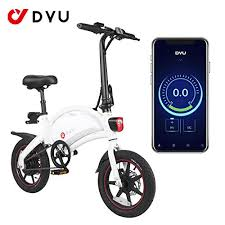 AmazeFan <b>DYU D3F</b> Folding <b>Electric</b> Bike, Smart Mountain Bike for ...