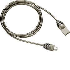 Дата-кабель <b>Canyon</b> CNS-USBM5DG <b>USB</b> - microUSB, металл ...