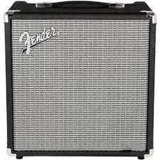 Транзисторный <b>басовый комбоусилитель Fender</b> Rumble 25 ...