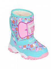 <b>Сапоги</b> утепленные для девочек <b>Peppa Pig</b> бирюзовый - купить в ...