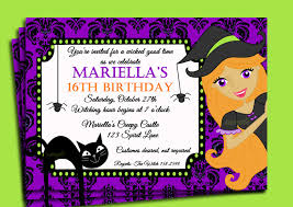 doc 600600 16th birthday party invitation wording sweet 16 halloween birthday party invitation wording 16th birthday party invitation wording