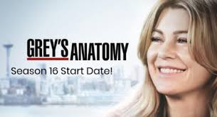 New 'Grey's Anatomy' Season 16 Premiere Date Officially Revealed ...
