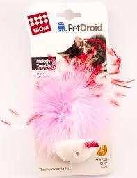 """Интерактивная <b>игрушка</b> для кошек <b>GiGwi</b> """"<b>PetDroid</b>"""" со звуковым ..."""