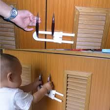 2PCS <b>Children Safety Lock Baby Protection Lock U Shape</b> Window ...