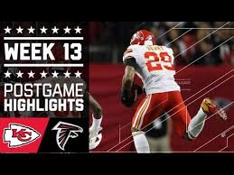 Chiefs vs. Falcons | NFL Week 13 Game Highlights - YouTube
