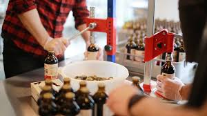ampamp prep table: clink here to watch one of our incubator tenants prospectors cold brew coffee using the facilities to brew bottle and label their product