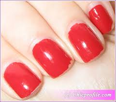 Bildresultat för essie nail polish red nouveau review