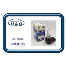120-0133 H&Q <b>Лампа HB3</b> H&Q Standard 12V 60W
