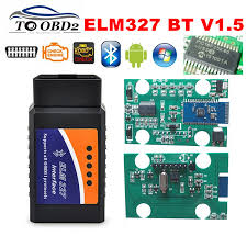 PROMISE 100% <b>V1</b>.<b>5</b> Hardware 25K80 Chip <b>ELM327</b> 1.5 Bluetooth ...