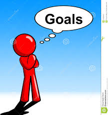 thinking goals character shows aspiration targets and mission thinking goals character shows aspiration targets and mission
