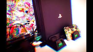 Вертикальная <b>Подставка</b> для PlayStation 4 Slim , Pro с зарядками ...