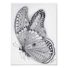 <b>Dragonflies</b> Zentangle by Sandy Rosenvinge Lundbye. <b>Pvc</b> Projects ...