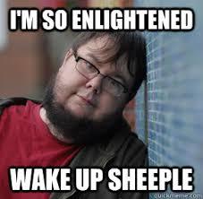 enlightened dork | Sheeple | Know Your Meme via Relatably.com