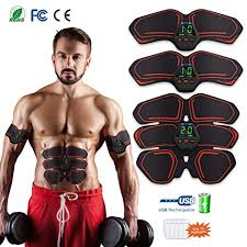 <b>EMS Abs Trainer Abdominal</b> Belt USB Rechargeable for HONITURE ...