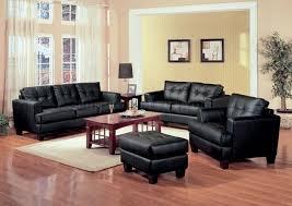 contemporary living room furniture black