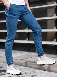 Брюки <b>джоггеры</b> джинсовые / Светлые брюки / Брюки из <b>денима</b> ...