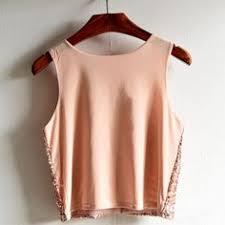 2017 Women sleeveless top Sequin <b>Vest Striped</b> Gauze Splicing ...