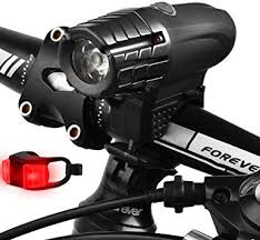 <b>LED Tail</b> Light Headlight Bike Shockproof <b>Waterproof Rechargeable</b> ...