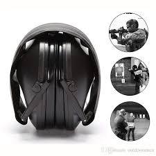 Ear protector <b>Tactical Shooting</b> Earmuff Adjustable <b>Foldable Anti</b> ...