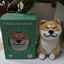LanLan <b>Cartoon Cute</b> Plush Dog Wireless Bluetooth Speaker Stereo ...