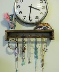jewelry rack decor holder diy jewelry holder out of spice rack