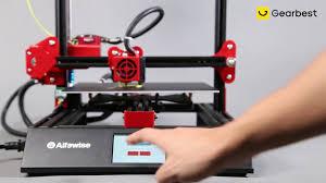 <b>Alfawise U50 DIY</b> 3D Printer - Gearbest.com - YouTube