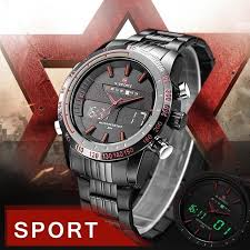 NAVIFORCE <b>Men Watches</b> Metal Chronograph <b>Multifunction Sports</b> ...