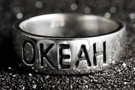 Купить <b>кольцо</b> с надписью ОКЕАН - <b>Waves</b> & <b>Gems</b>