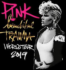 """<b>Pink</b> Beautiful Trauma World Tour"" Poster by antoniogosong23 ..."