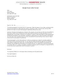 example of cover letter format letter format  cover