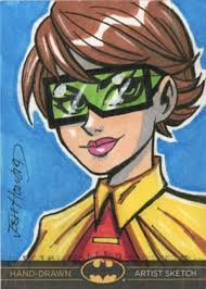 ... one card at the moment, but will post more as I get the okay. The cards release sometime in December. Josh_howard_btl_preview_01 Carrie Kelly as Robin. - 6a00d83451884769e2017ee435fa8e970d-320wi