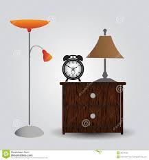 alarm clock bedside table bedroom