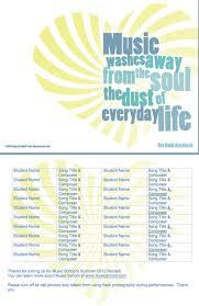 more customizable recital program templates missamaryah more customizable recital program templates missamaryah com
