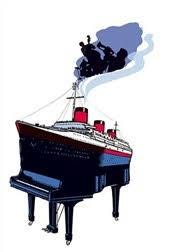 piano bateau