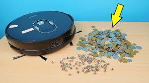<b>Робот Пылесос Ilife A7</b> против Железных шариков и Монет! alex ...