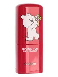 THE SAEM <b>Румяна</b>-<b>стик</b> (<b>Over Action Little</b> Rabbit) Love Me Stick ...
