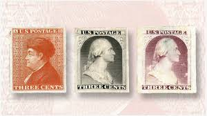 cherrystone sales offer affordable  th century proofs  essaysin january  cherrystone auctions offered three early united states stamp essays  one of franklin and two of washington  attributed to gavit  amp  co  of albany