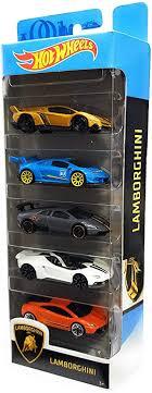 Mattel Hot Wheels Lamborghini 5 Pack: Toys & Games - Amazon.com