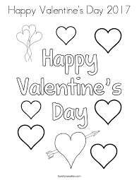 Small Picture Happy Valentines Day 2017 Coloring Page Twisty Noodle