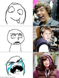 Meme Direction :))) Oh harry your crying face is so adorable ... via Relatably.com