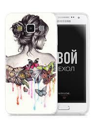 Чехол для Samsung Galaxy A3 2015 . Накладка - бампер на ...
