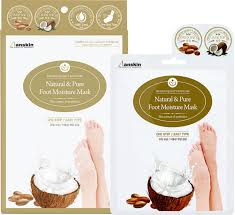 <b>Маска для ног</b> Anskin Natural & <b>Pure</b> Foot Moisture Mask